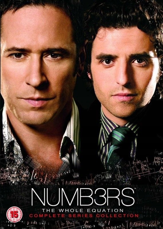 Wzór 31DVD Numbers Sezony 1-6 /Numb3rs/ Rob Morrow