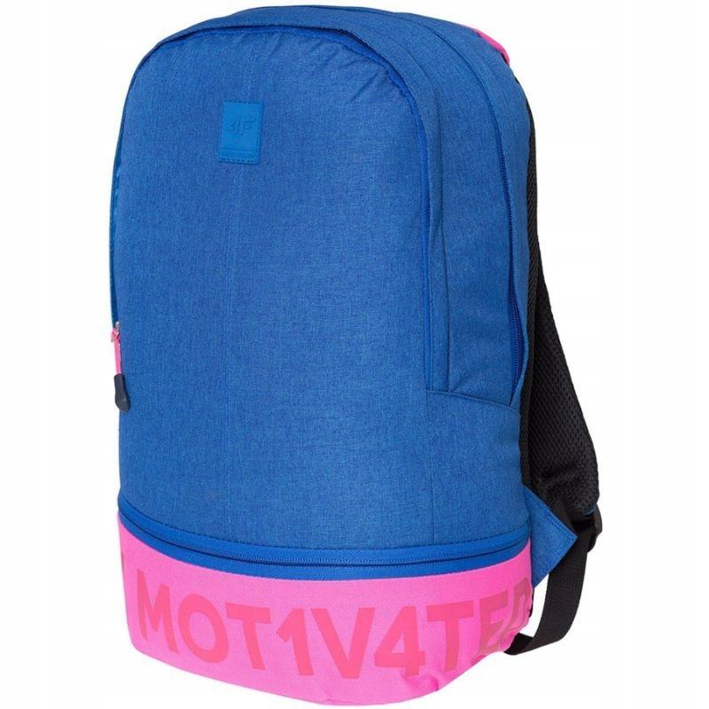Plecak 4f H4Z18-PCU002 kobaltowy