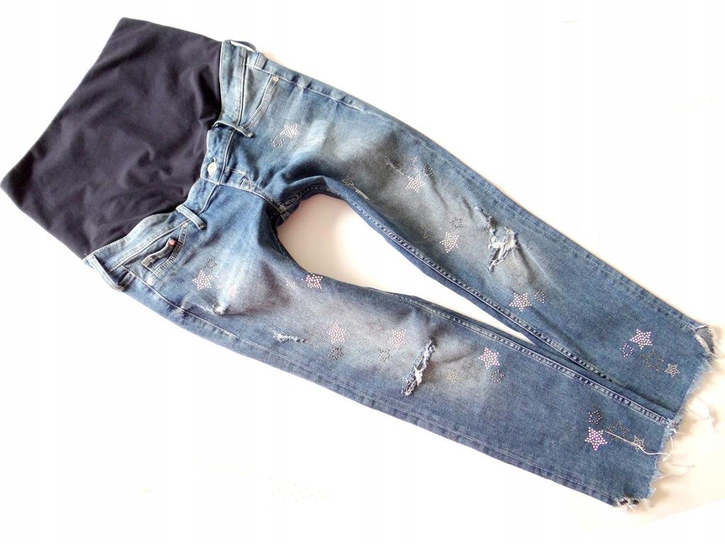 *H&M*świetne spodnie ciążowe skinny*EUR 42