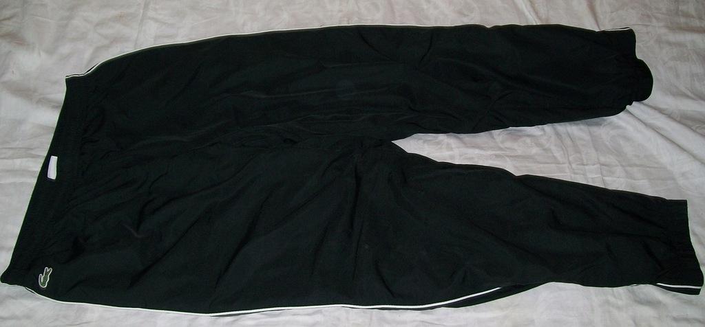 Lacoste sport spodnie dresowe czarne roz 6/xl