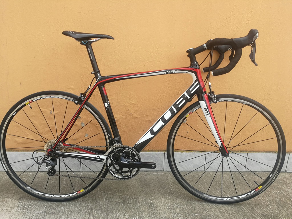 CUBE AGREE GTC PRO CARBON SHIMANO 105 ULTEGRA 56cm