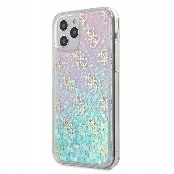 Guess Etui do iPhone 12 6,7 Pro Max pink hardcase
