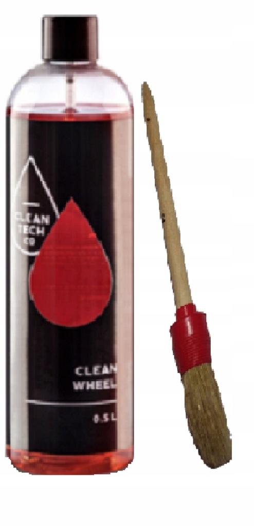 Clean Tech CLEAN WHEEL0,5l + rękawiczki i pędzelek