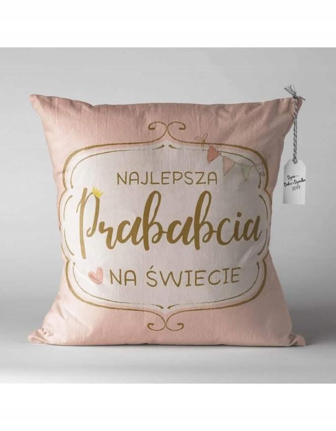 Poduszka Dzien Babci Prababci Upominek Prezent 8811985600 Oficjalne Archiwum Allegro