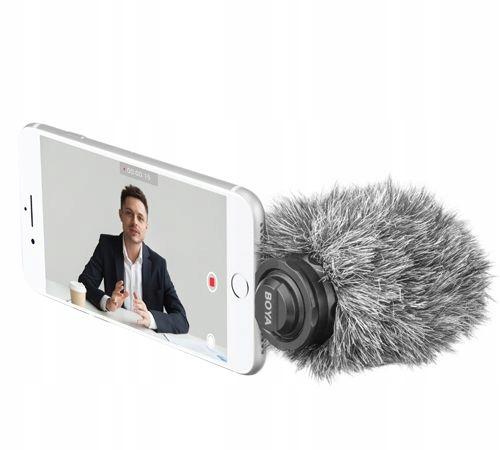 BOYA BY-DM200 - Profesjonalny mikrofon pojemnościo