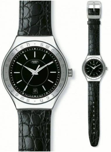 Zegarek swatch YAS402 irony automatic NOIR DE NOIR
