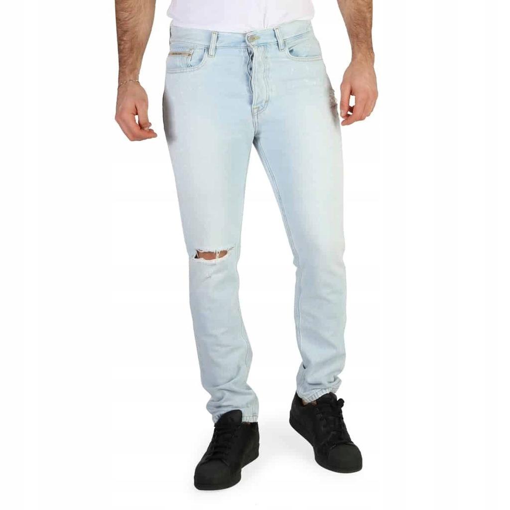 Spodnie męskie dżinsy Calvin Klein-J30J304940_ 32
