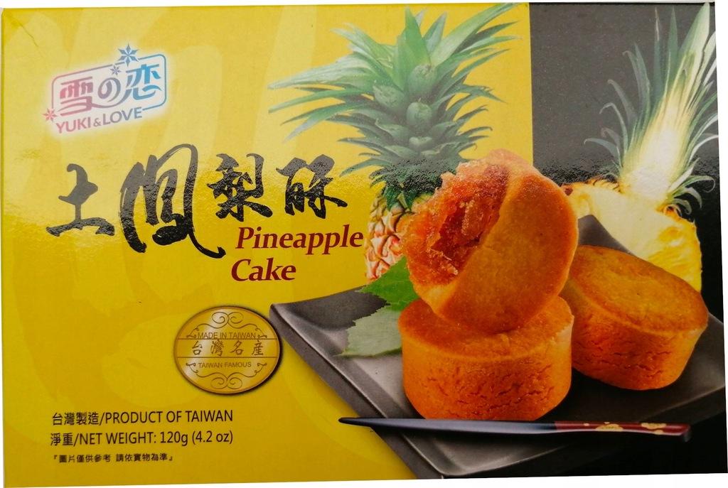 Ciasto ciastka z ananasem 120 g Yuki&Love