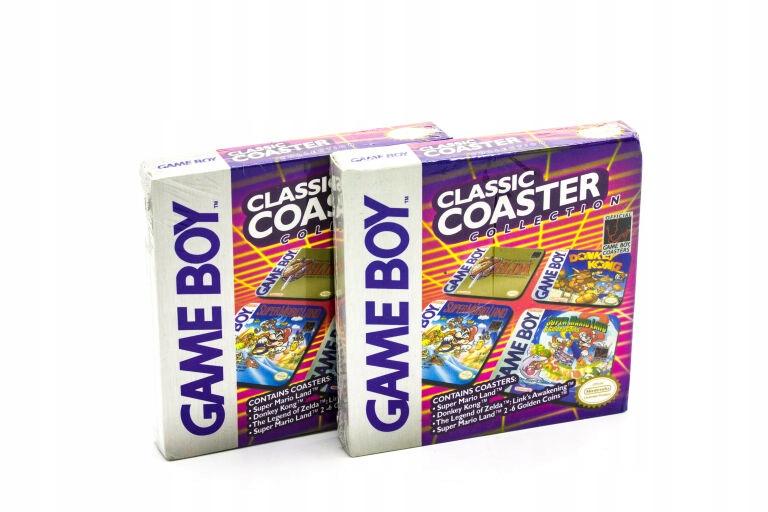 PODKŁADKI BAROWE GAME BOY CLASSIC COASTER
