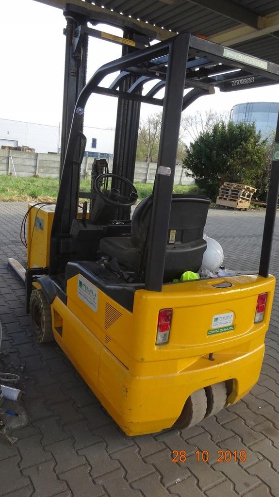 Wózek widłowy OM XE15 1500kg badania prostownik