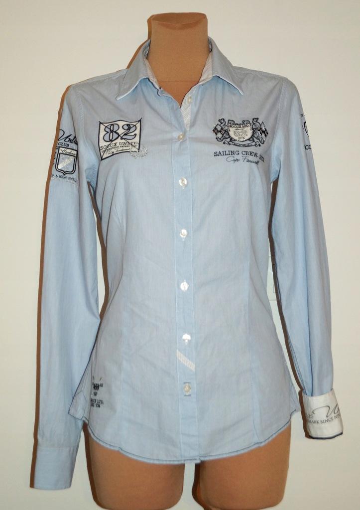SOCCX Koszula Niebieski L