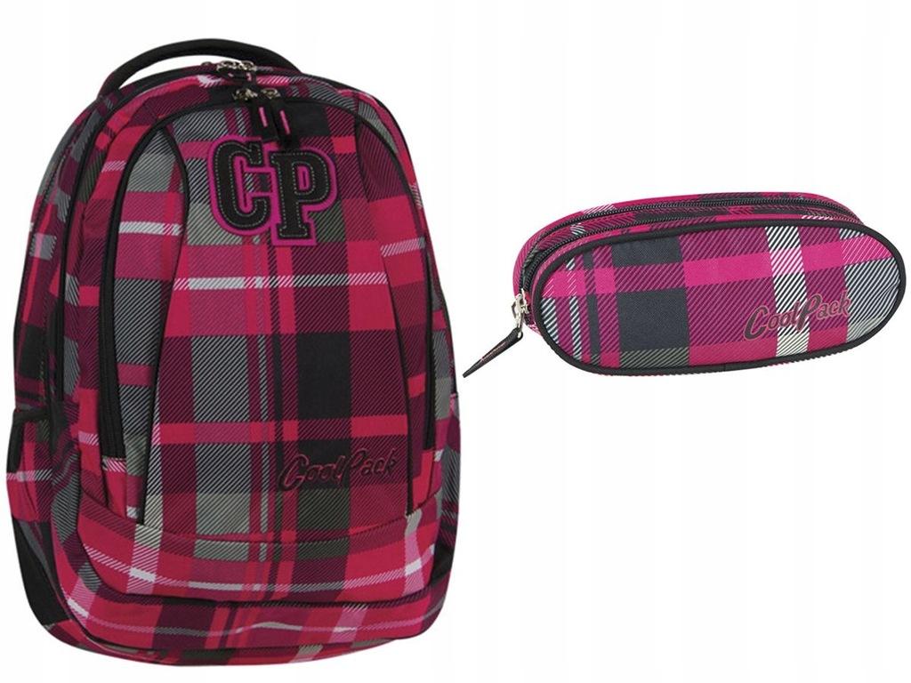 CoolPack CP zestaw piórnik z plecakiem DLA UCZNIA