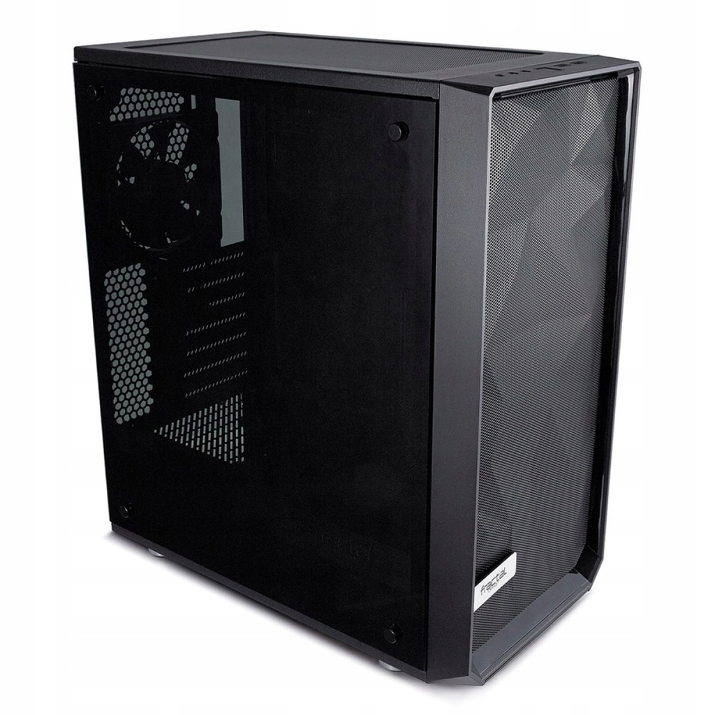 Meshify C Blackout Tempered Glass 2.5'/3.5' drive