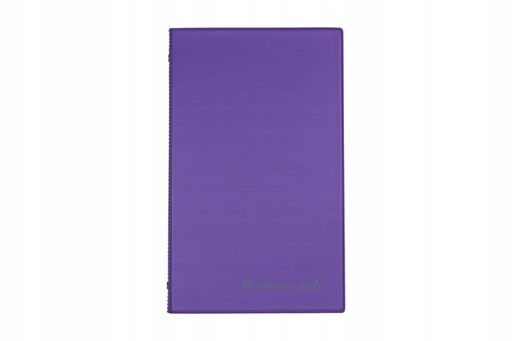 Wizytowniki Biurfol na 200 wizytówek - violet KWI0