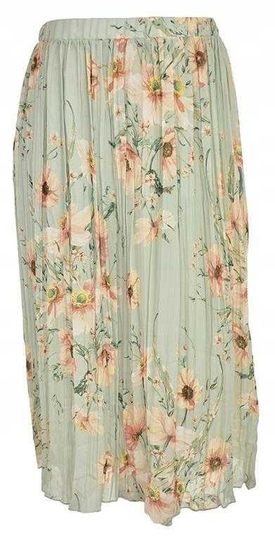 pBH7633 H&M plisowana spódnica w kwiaty 52