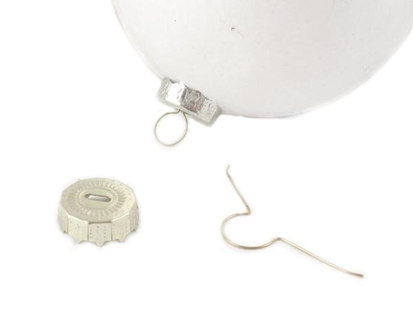 BH-003 Haczyki do bombek styropian małe złote 16mm