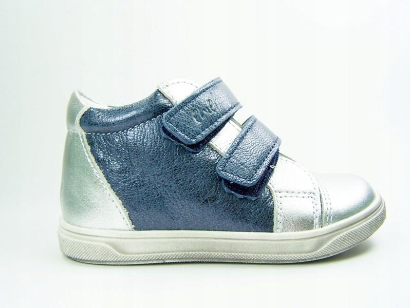 EMEL 2675 - 1 buty dziewczęce 23 na rzepy