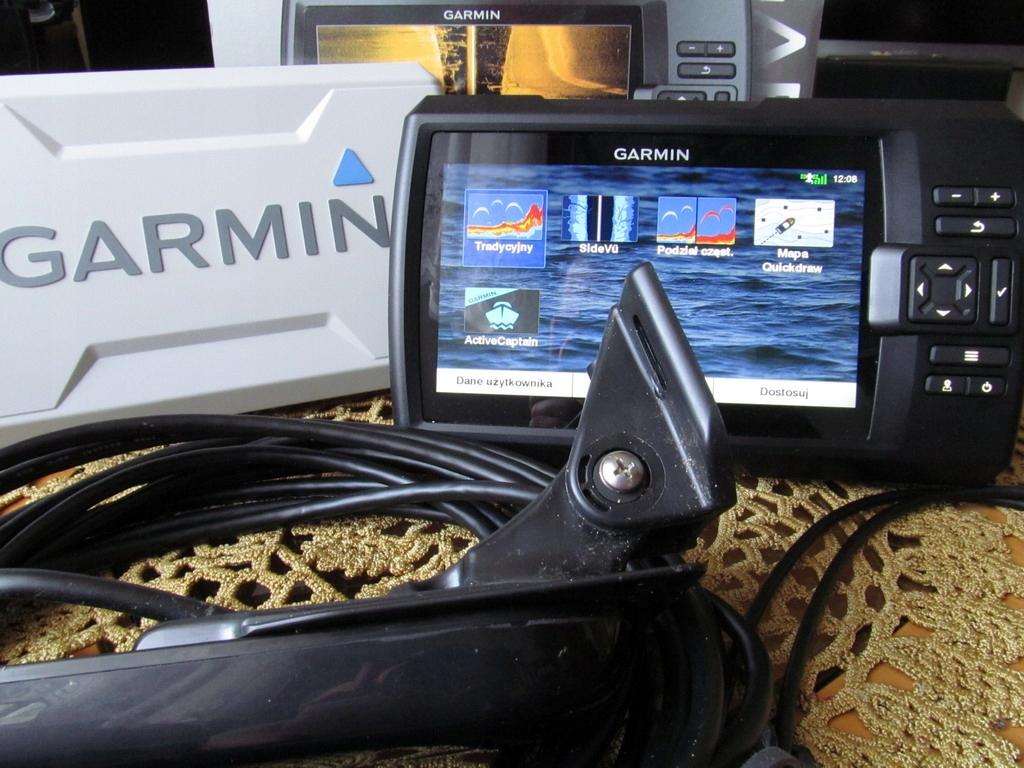 Garmin Striker 7sv + osłona ekranu