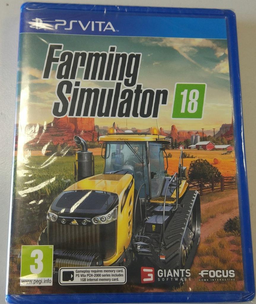 FARMING SIMULATOR 18 / PLAYSTATION VITA / NOWA