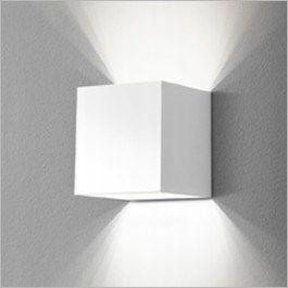 25674-03 Mini Cube kinkiet biały G/K mat LED Aquaf