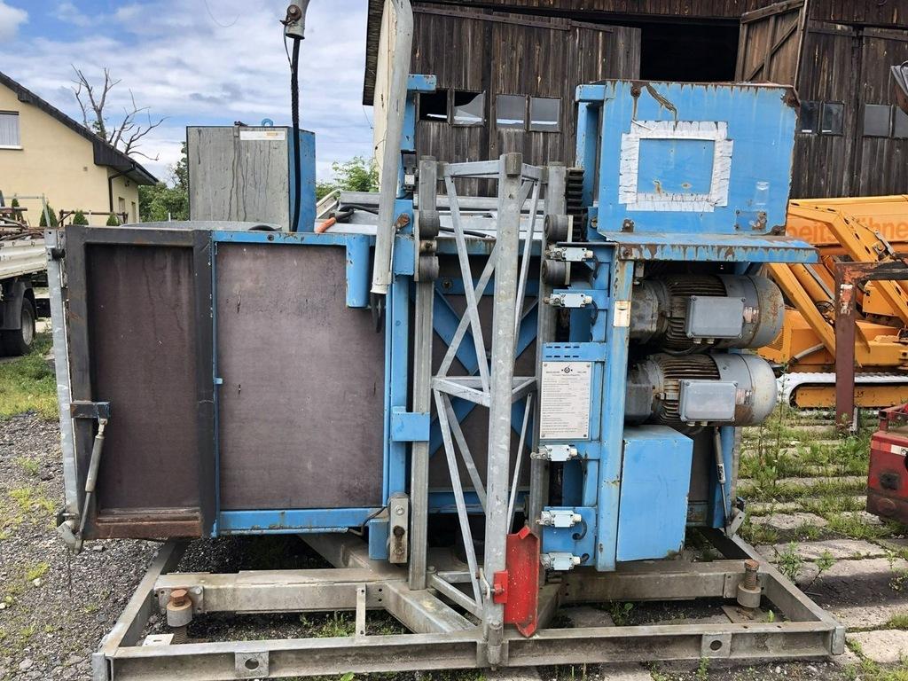 podnośnik budowlany winda żóraw dekarski dżwig
