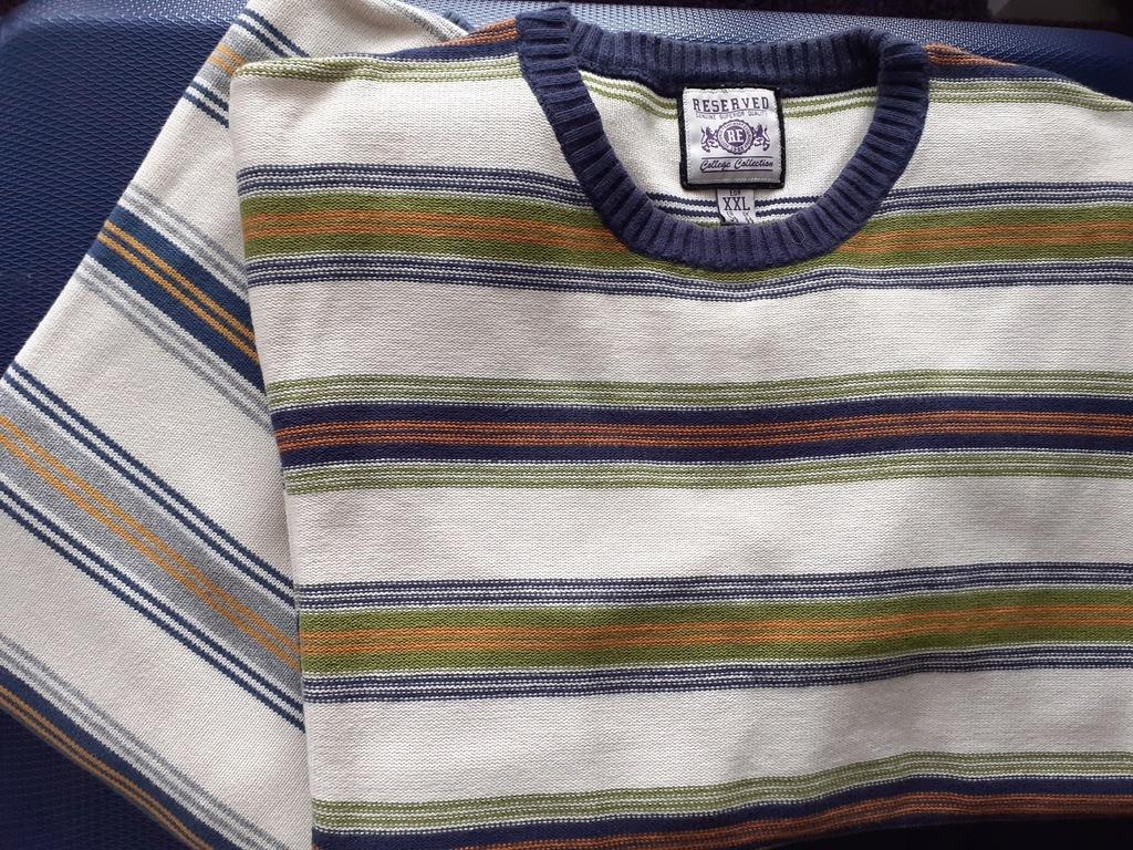 2 swetry marki RESERVED, XXL i L