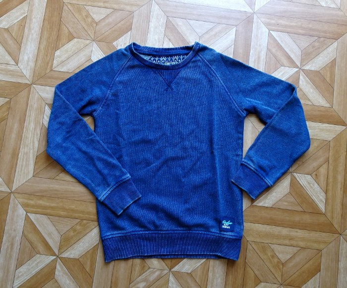 OVS Granatowa bluza chłopięca 6-7 lat