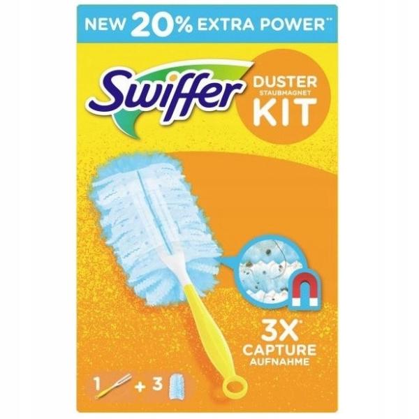 Swiffer Duster kit miotełka do kurzu + 3 wkłady