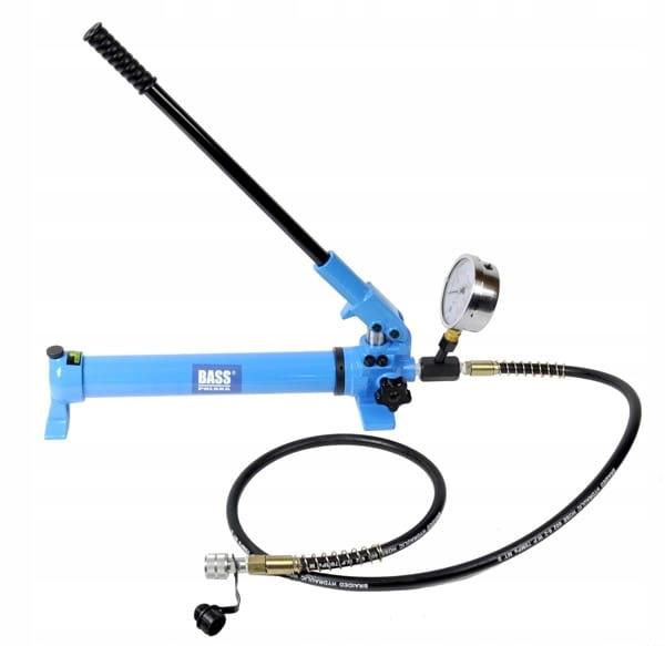 Pompa hydrauliczna do siłowników 700bar manometr B