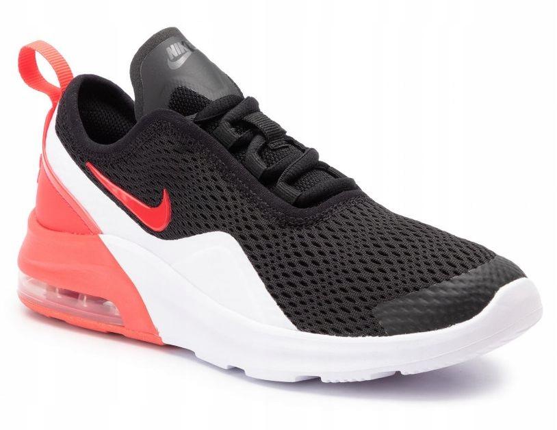 41 Buty Nike AIR MAX MOTION 2 Czarne Czerwone