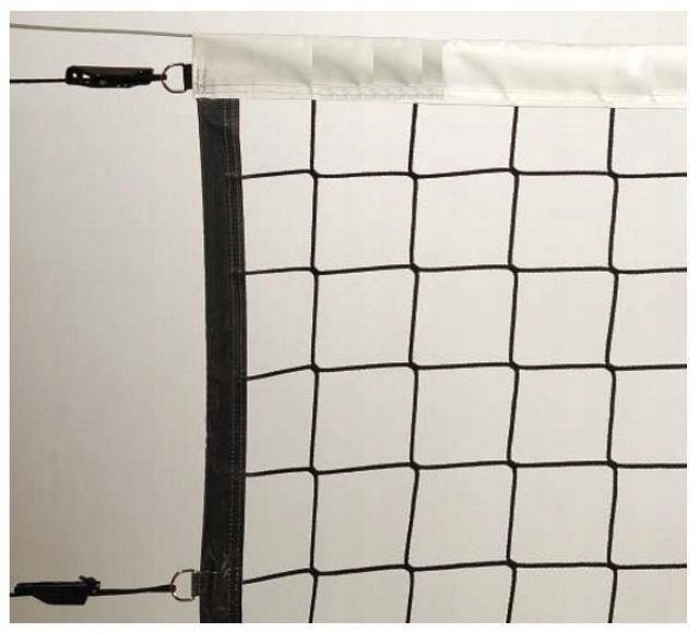 Siatka do siatkówki z antenkami Netex Czarna SI000