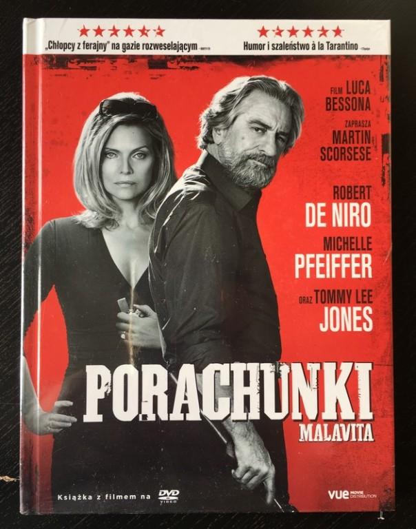 Porachunki  Malavita DVD nowe Luc Besson