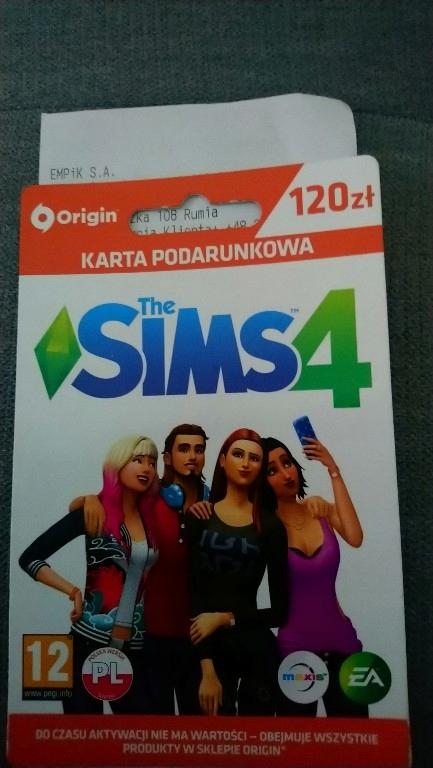 Sims 4 Karta Podarunkowa 120zl 8108944799 Oficjalne Archiwum Allegro