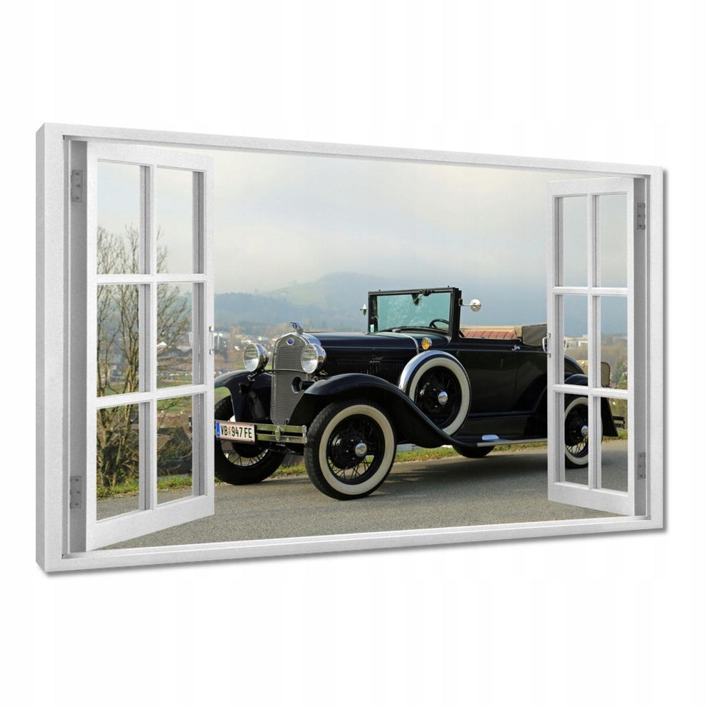 Obrazy 30x20 Zabytkowy Ford