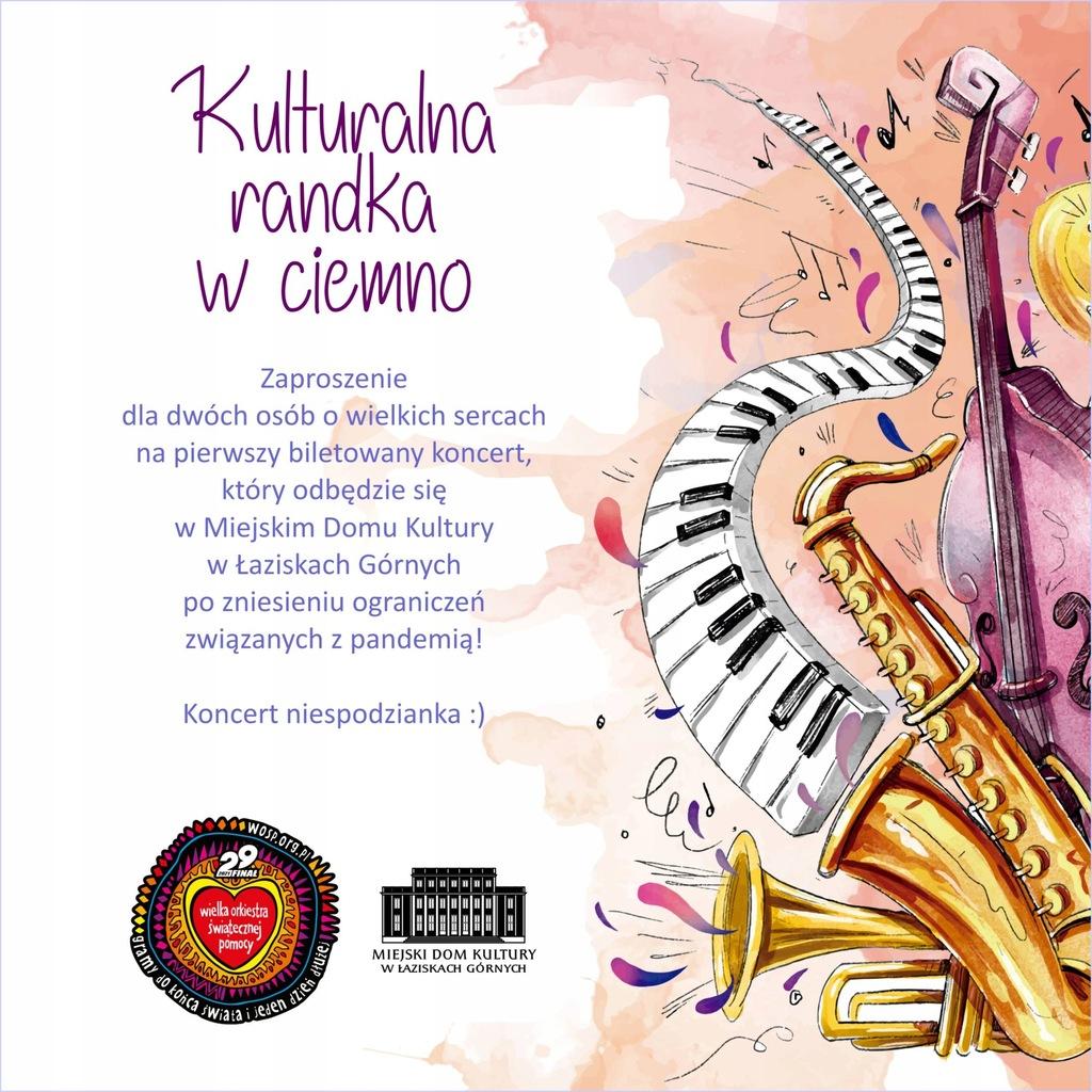 Zaproszenie na koncert w MDK Łaziska Górne