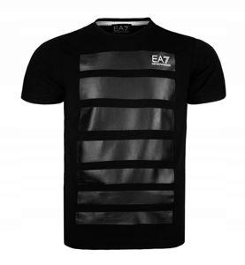 EMPORIO ARMANI czarny EA7 t-shirt męski T14 r.XXL