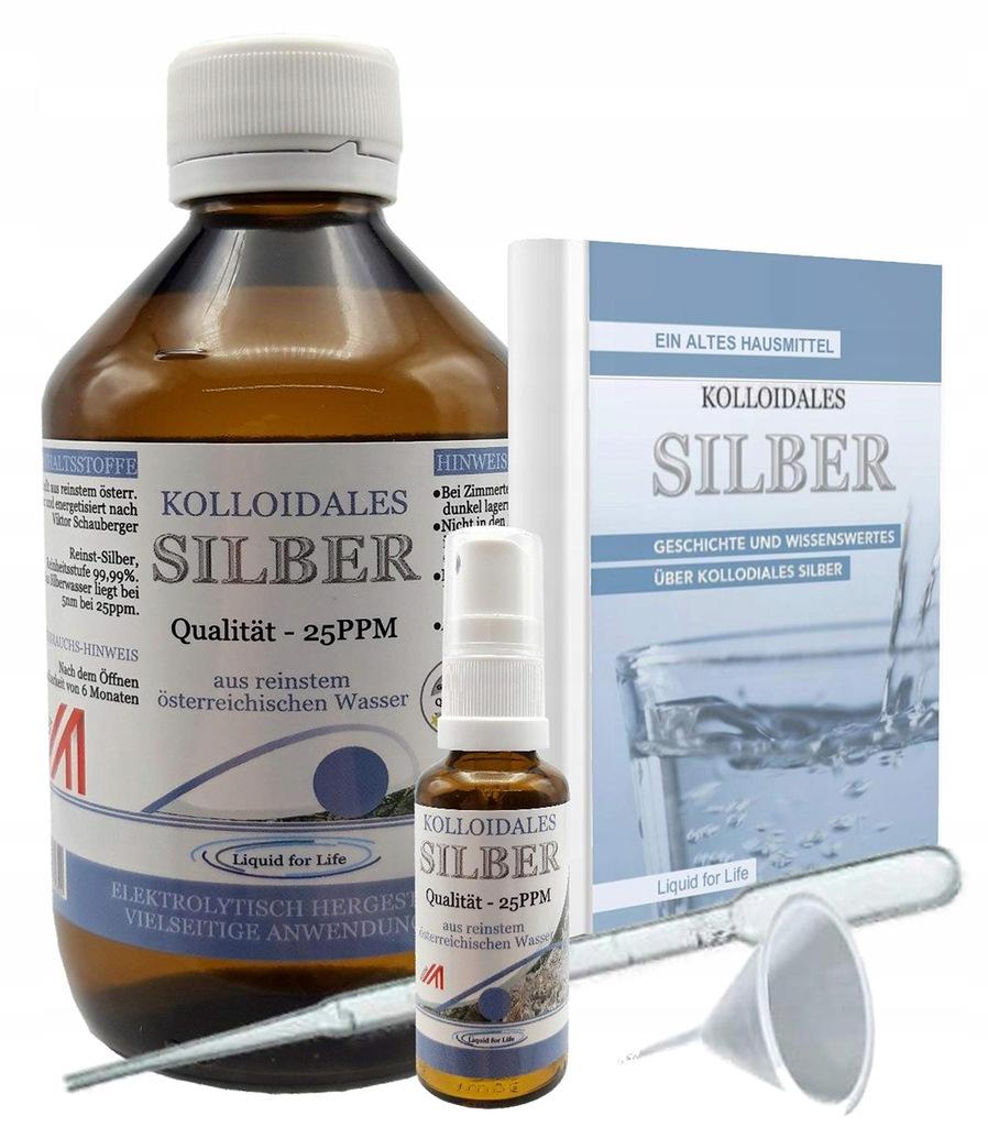 SREBRO KOLOIDALNE LIQUID FOR LIFE 25 ppm, 1000 ml