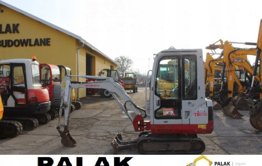 Takeuchi Mini koparka TAKEUCHI TB 016 , 2011rok