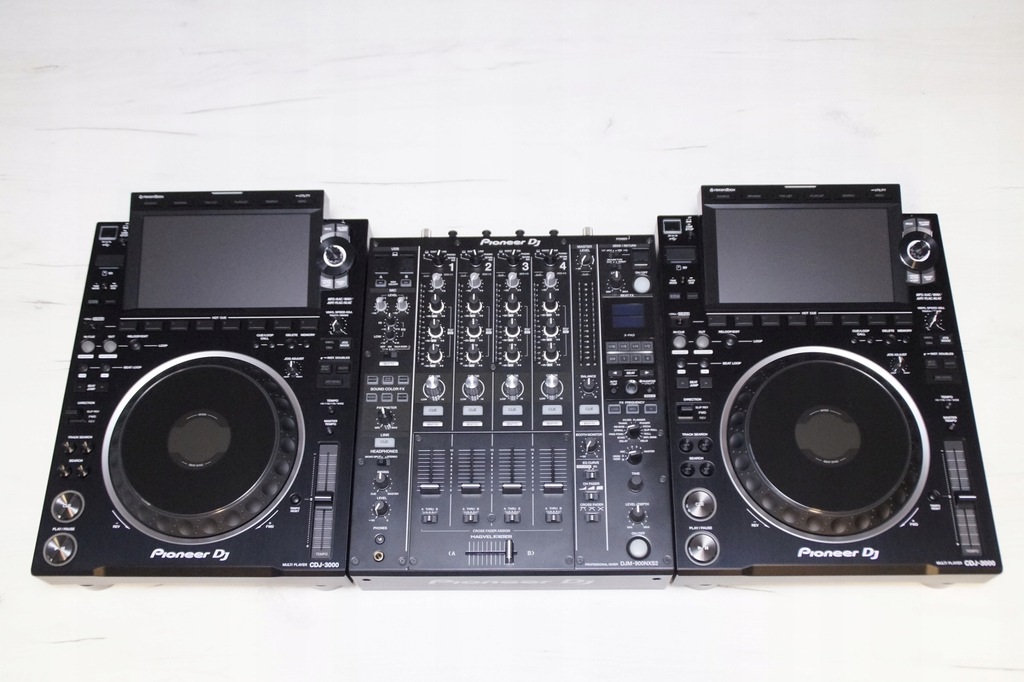 2 x Pioneer CDJ 3000 DJM 900 Nexus 2