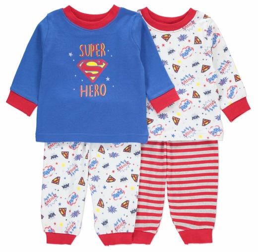 GEORGE komplet 2szt piżamek SUPERMAN r.80-86cm