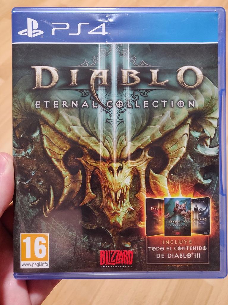 DIABLO III ETERNAL COLLECTION PS4 EN nowa box