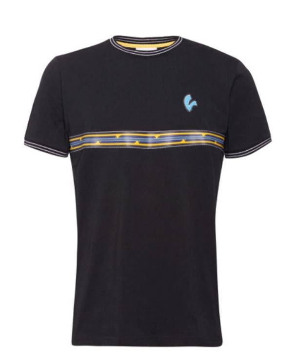 T-shirt męski Vespa V-stripes rozmiar M