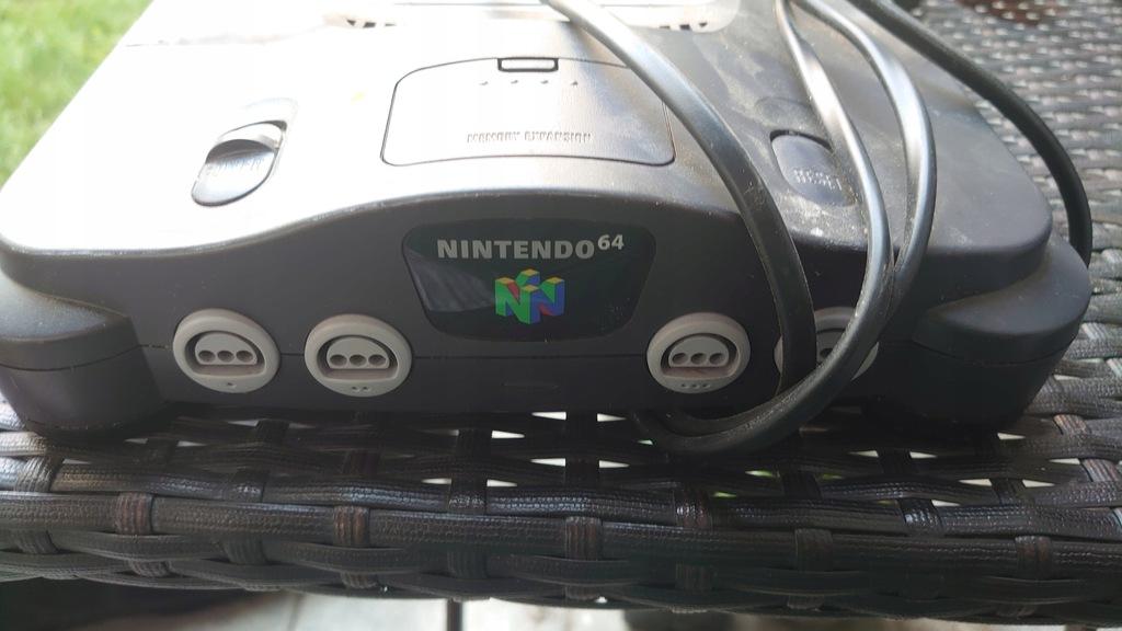 Nintendo 64 z zasilaczem ... Bcm