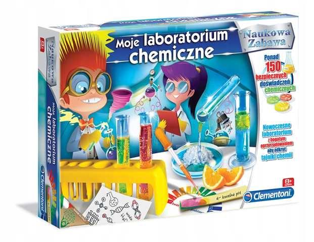 Moje laboratorium chemiczne 60250 Clementoni