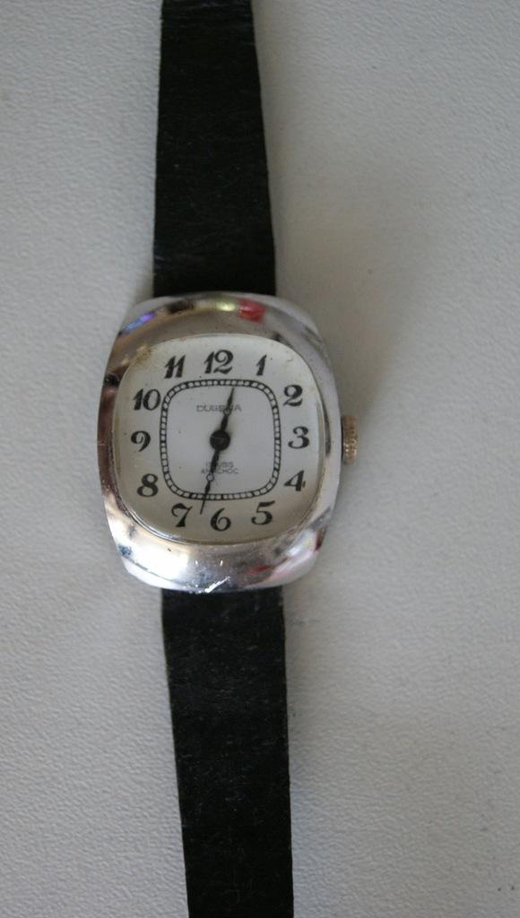 stary mechaniczny zegarek DUGENA