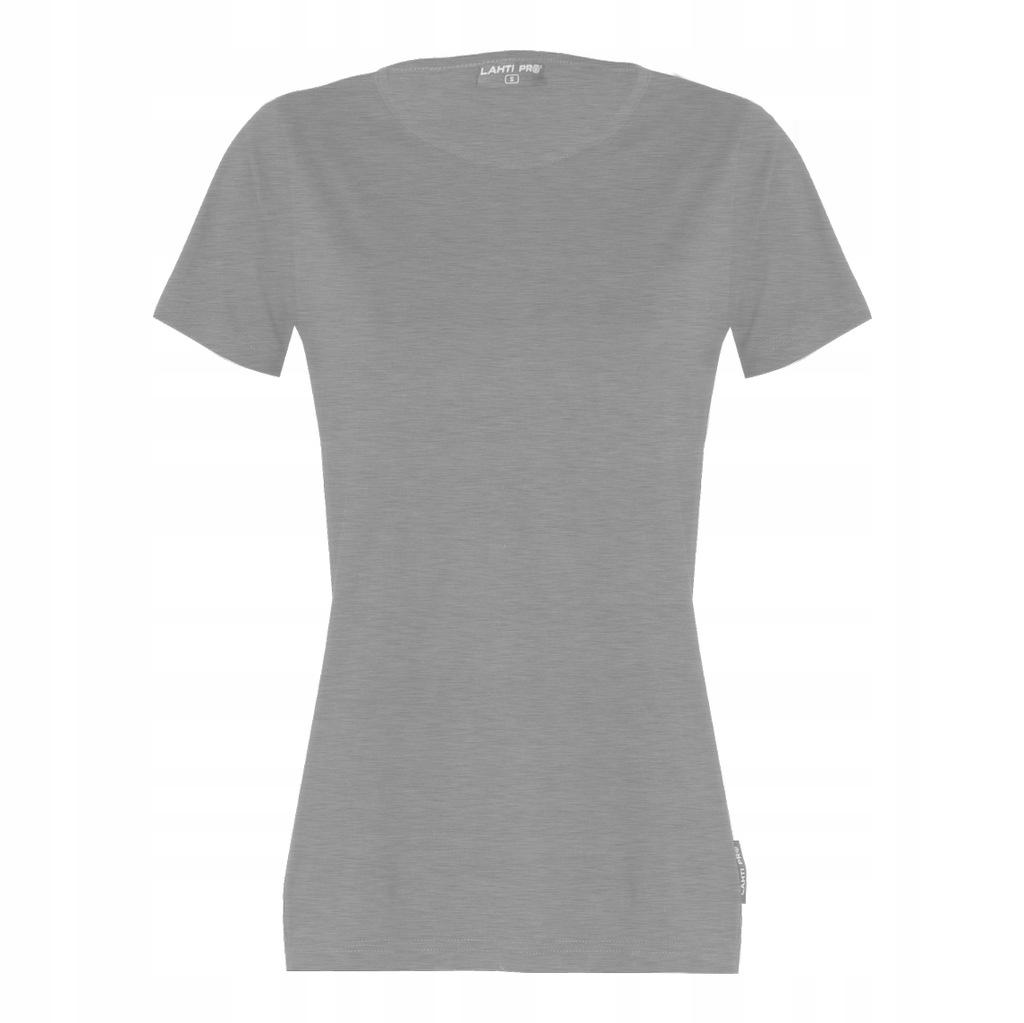 T-shirt koszulka damska szara Lahti Pro L40212 L