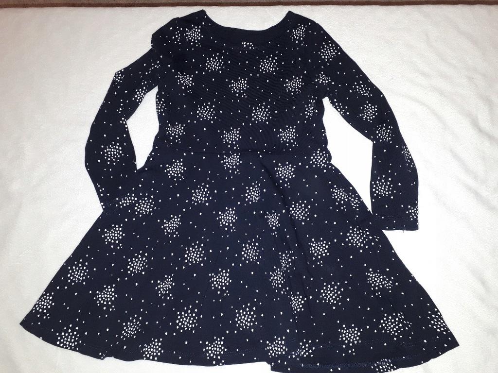 Sukienka H&M 92 nowa W SERDUSZKA czarna