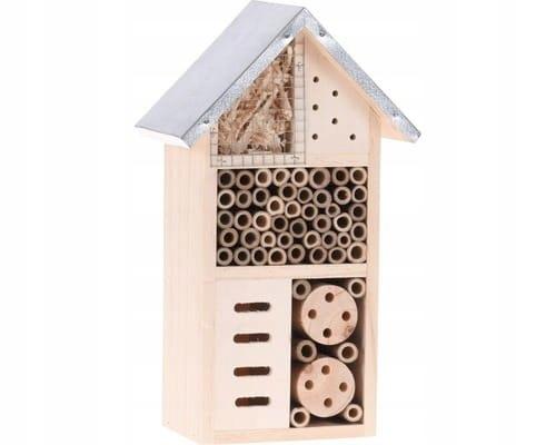 Domek Hotel dla owadów insektów 15x9x26cm