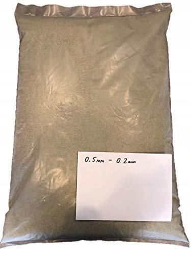 PIASEK ŚCIERNIWO DO PIASKOWANIA 15kg (0,2–0,5 mm)