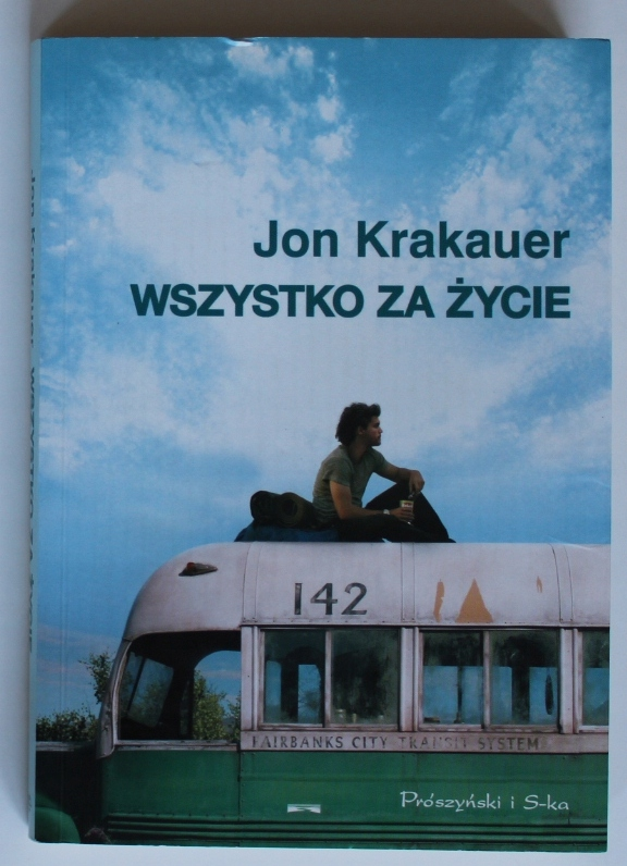 Wszystko Za Zycie Krakauer 8931697526 Oficjalne Archiwum Allegro